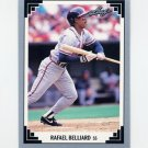 1991 Leaf Baseball #453 Rafael Belliard - Atlanta Braves