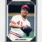 1991 Leaf Baseball #373 Chris Hammond RC - Cincinnati Reds