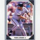 1991 Leaf Baseball #369 Mark Leonard RC - San Francisco Giants