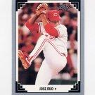 1991 Leaf Baseball #326 Jose Rijo - Cincinnati Reds
