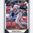 1991 Leaf Baseball #266 Dwight Evans - Baltimore Orioles
