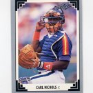 1991 Leaf Baseball #217 Carl Nichols - Houston Astros ExMt