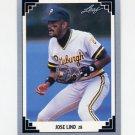 1991 Leaf Baseball #146 Jose Lind - Pittsburgh Pirates