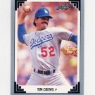 1991 Leaf Baseball #141 Tim Crews - Los Angeles Dodgers