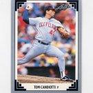 1991 Leaf Baseball #079 Tom Candiotti - Cleveland Indians