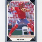 1991 Leaf Baseball #073 Joe Oliver - Cincinnati Reds