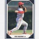 1991 Leaf Baseball #058 Jose Oquendo - St. Louis Cardinals