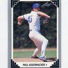 1991 Leaf Baseball #053 Paul Assenmacher - Chicago Cubs