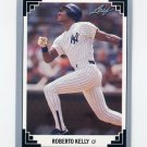 1991 Leaf Baseball #038 Roberto Kelly - New York Yankees