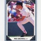 1991 Leaf Baseball #019 Mike Greenwell - Boston Red Sox