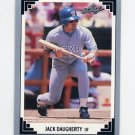 1991 Leaf Baseball #017 Jack Daugherty - Texas Rangers
