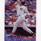 1994 Leaf Baseball #158 Jim Leyritz - New York Yankees