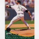 1994 Leaf Baseball #102 Bobby Witt - Oakland A's
