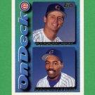 1995 Topps Baseball #646 Doug Glanville / Darron Cox - Chicago Cubs