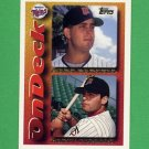 1995 Topps Baseball #639 Marty Cordova / Marc Barcelo - Minnesota Twins