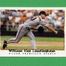 1995 Topps Baseball #611 William VanLandingham - San Francisco Giants