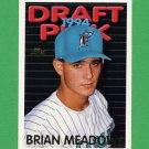 1995 Topps Baseball #570 Brian Meadows RC - Florida Marlins
