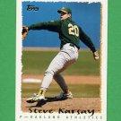 1995 Topps Baseball #569 Steve Karsay - Oakland A's