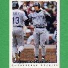 1995 Topps Baseball #539 Joe Girardi - Colorado Rockies