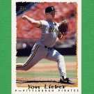 1995 Topps Baseball #537 Jon Lieber - Pittsburgh Pirates