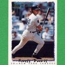 1995 Topps Baseball #536 Russ Davis - New York Yankees