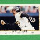 1995 Topps Baseball #501 Jeff King - Pittsburgh Pirates