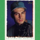 1995 Topps Baseball #476 Greg Colbrunn - Florida Marlins