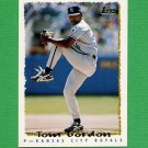 1995 Topps Baseball #475 Tom Gordon - Kansas City Royals