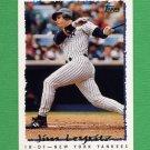 1995 Topps Baseball #450 Jim Leyritz - New York Yankees