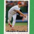 1995 Topps Baseball #436 Roger Pavlik - Texas Rangers