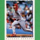 1995 Topps Baseball #403 Darren Oliver - Texas Rangers
