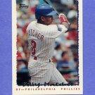 1995 Topps Baseball #383 Billy Hatcher - Philadelphia Phillies