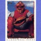 1995 Topps Baseball #374 Lenny Webster - Montreal Expos