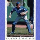 1995 Topps Baseball #327 Randy Knorr - Toronto Blue Jays