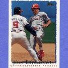 1995 Topps Baseball #326 Jim Eisenreich - Philadelphia Phillies