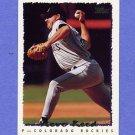 1995 Topps Baseball #321 Steve Reed - Colorado Rockies