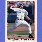 1995 Topps Baseball #311 Bryan Harvey - Florida Marlins