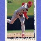 1995 Topps Baseball #222 Jack Armstrong - Texas Rangers