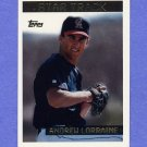 1995 Topps Baseball #221 Andrew Lorraine - California Angels
