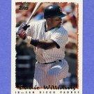 1995 Topps Baseball #208 Eddie Williams - San Diego Padres