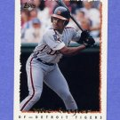 1995 Topps Baseball #182 Milt Cuyler - Detroit Tigers