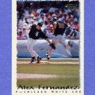 1995 Topps Baseball #163 Alex Fernandez - Chicago White Sox