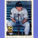 1995 Topps Baseball #143 Bob Hamelin - Kansas City Royals