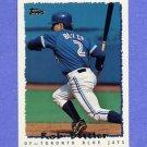 1995 Topps Baseball #116 Rob Butler - Toronto Blue Jays