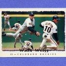 1995 Topps Baseball #110 Walt Weiss - Colorado Rockies