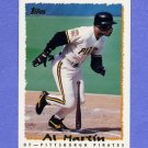 1995 Topps Baseball #051 Al Martin - Pittsburgh Pirates