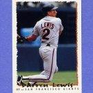 1995 Topps Baseball #039 Darren Lewis - San Francisco Giants