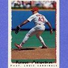 1995 Topps Baseball #024 Rene Arocha - St. Louis Cardinals