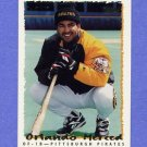1995 Topps Baseball #021 Orlando Merced - Pittsburgh Pirates