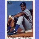 1995 Topps Baseball #009 Delino DeShields - Los Angeles Dodgers
